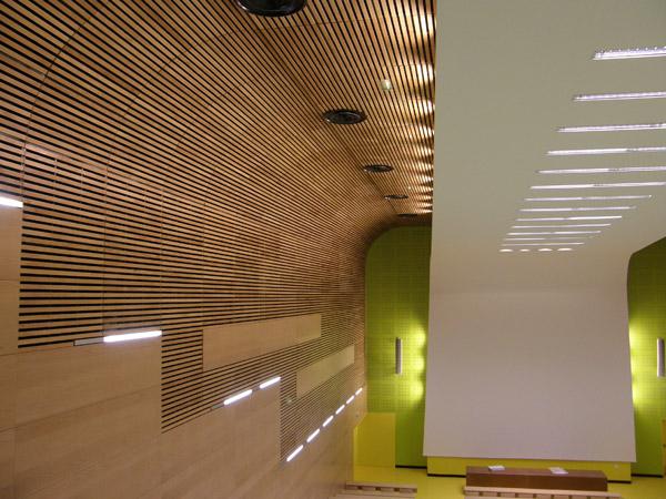 Faux Plafond Bois Acoustique : AZ Plafonds : Le plafond bois et le plafond m?tallique ? vos mesures