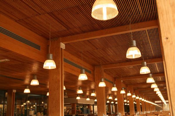 AZ Plafonds Le plafond bois et le plafond métalliqueà vos mesures # Plafond Acoustique Bois